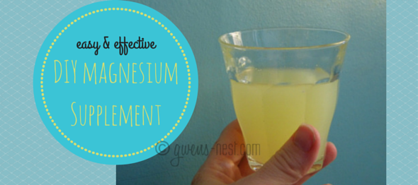 DIY Magnesium Supplement