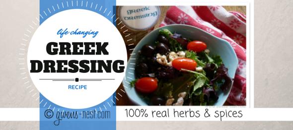 gwens nest greek dressing recipe