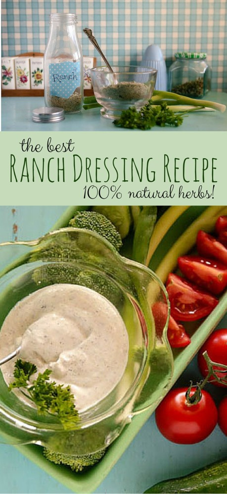 SO good! A BULK Ranch Dressing recipe with nothing but herbs that tastes AMAZING!