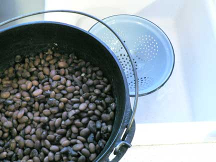 Cooking Disasters: Salvaging Burnt Beans