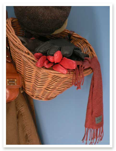 Hat and Glove Basket