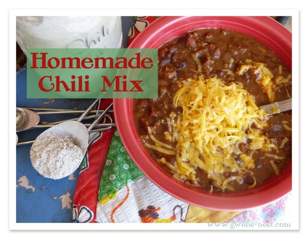 Chili Mix Recipe