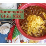 Homemade chili spice mix