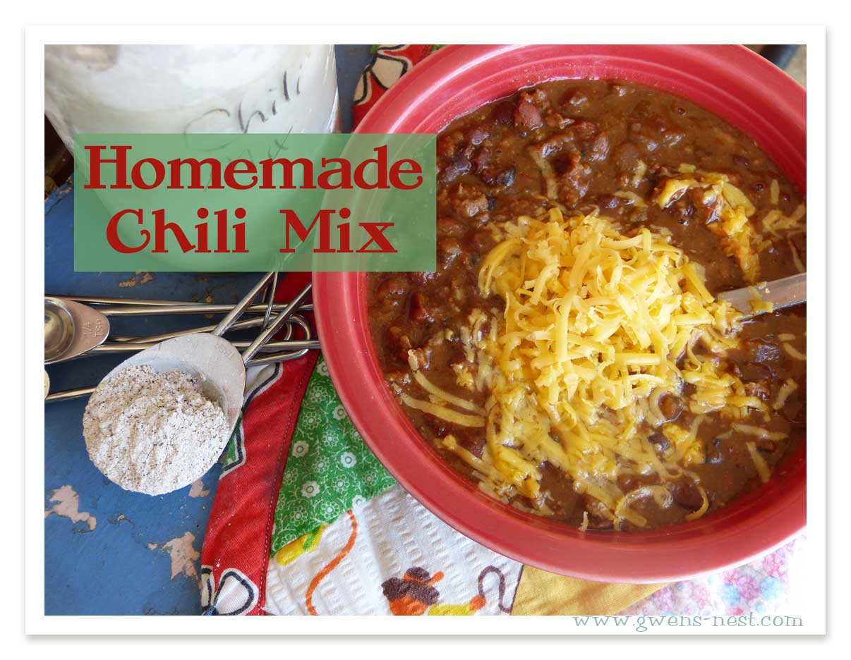 A homemade Chili Mix recipe is something I put together every fall…I've been doing this for years, and not only does it save us a good bit of money from ...