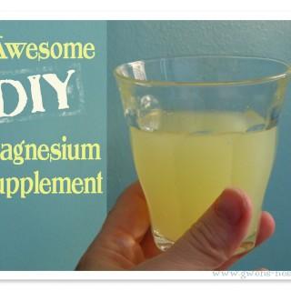 DIY magnesium supplement recipe