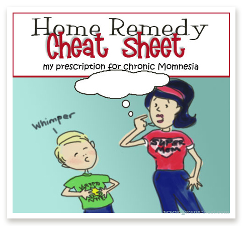 Our Family Home Remedy List