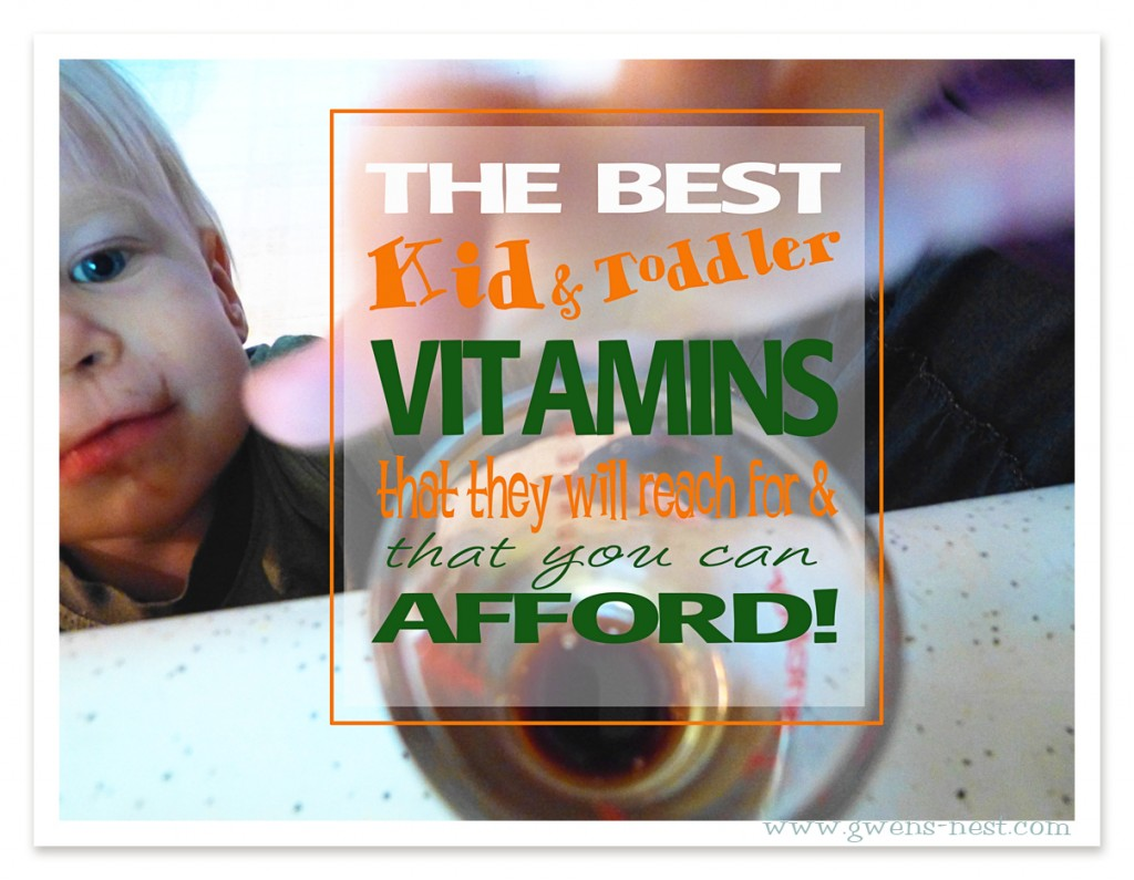 The Best Vitamins for Kids