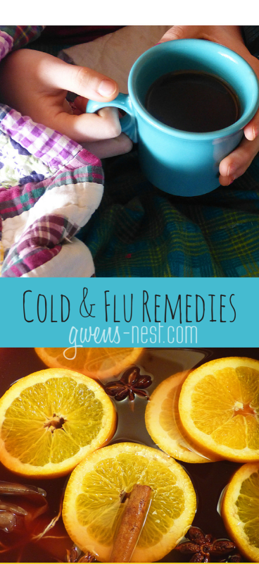 Our family's favorite and most effective flu remedies- that taste good and REALLY work!