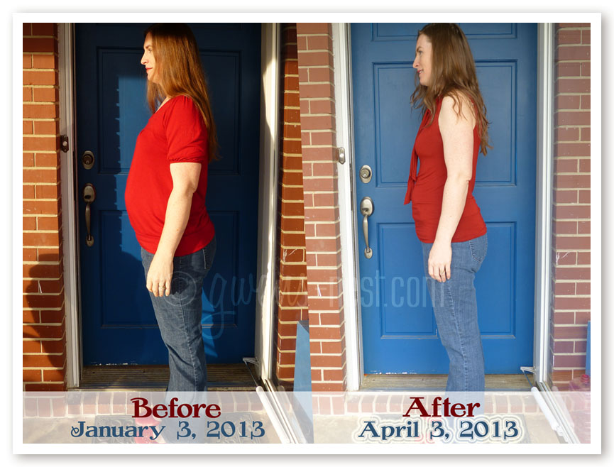 before after THM weight loss