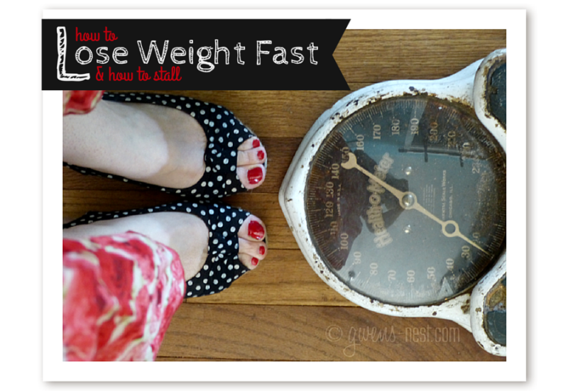 How to Lose Weight Fast & How to Stall