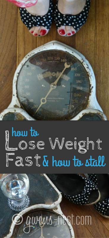 How to lose weight fast & how to stall- great tips for rebalancing your eating plan and getting the scale moving again!