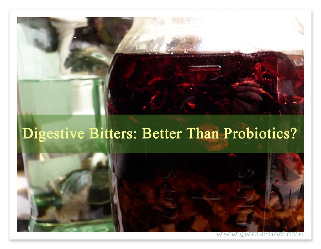 Digestive Bitters: Better than Probiotics!