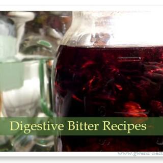 Digestive Bitter Recipes