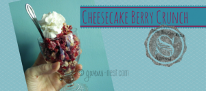 Cheesecake Berry Crunch