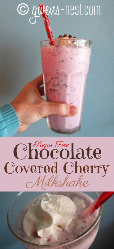 chocolate covered cherry shake pin