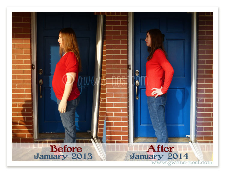 before after weight loss THM