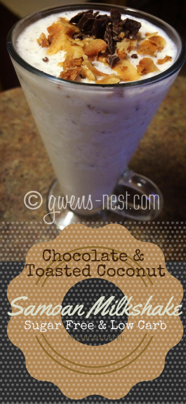 sugar free coconut chocolate milkshake (1)