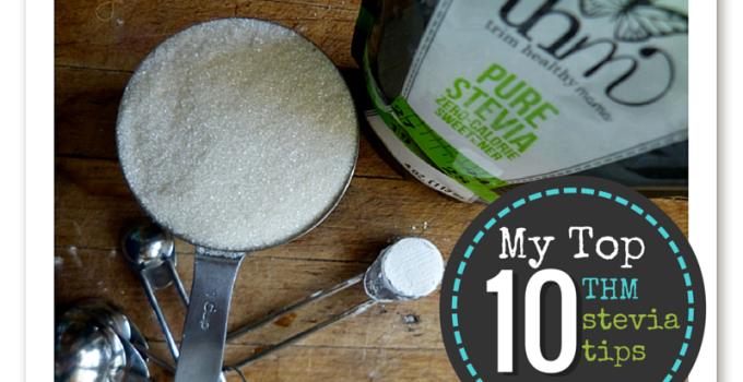10 Trim Healthy Mama Stevia Tips