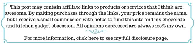 Affiliate Links disclosure