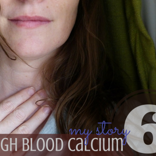 parathyroid surgery from my high blood calcium-my scar and surgery report