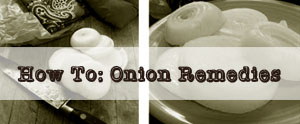 Onion remedies are wonderful for congestion and inflammation...here is how we use onions in our house as a natural remedy.