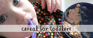 Try this easy and yummy way to make cereal less messy for toddlers.