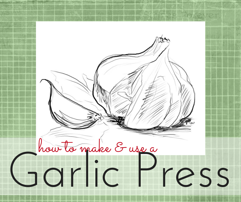 gwens nest garlic press remedy