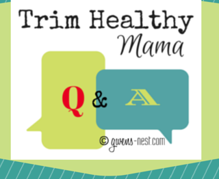 THM Q&A from Gwen's Nest- breakfast timing crossing over and cravings