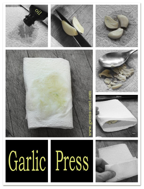 Making a Garlic Press | Gwen's Nest