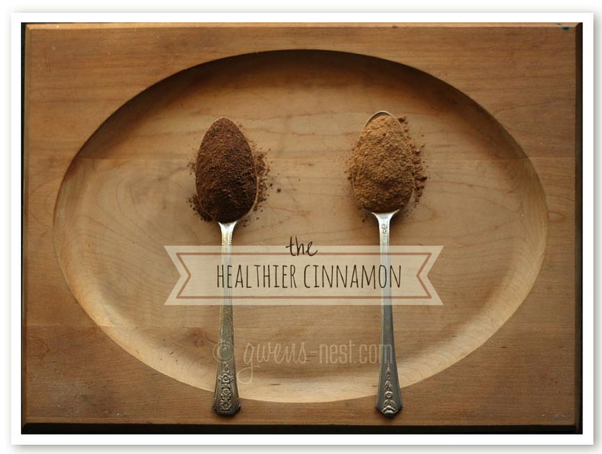 healthier cinnamon