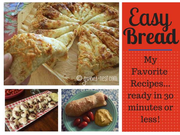 easy bread recipes img