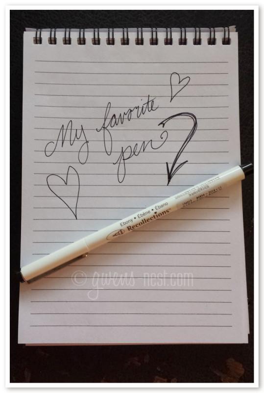favorite pen