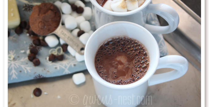 MOST Awesome Hot Cocoa Mix Recipe Ever