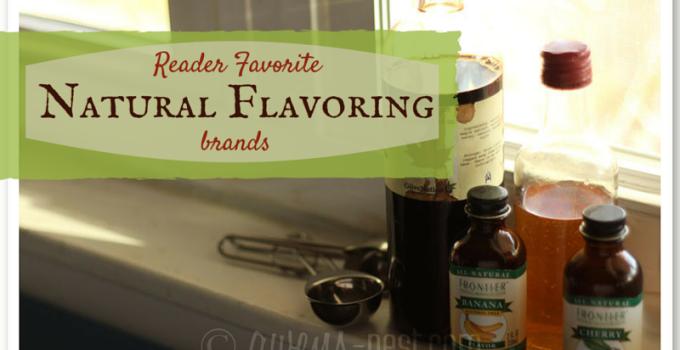 Favorite Natural Flavoring