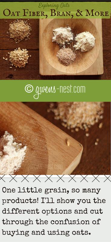 oat fiber bran pin