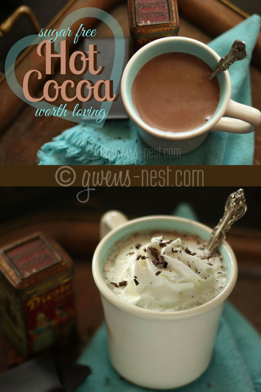 FINALLY! A sugar free hot cocoa that's worth loving- Can be df/sf/ef!