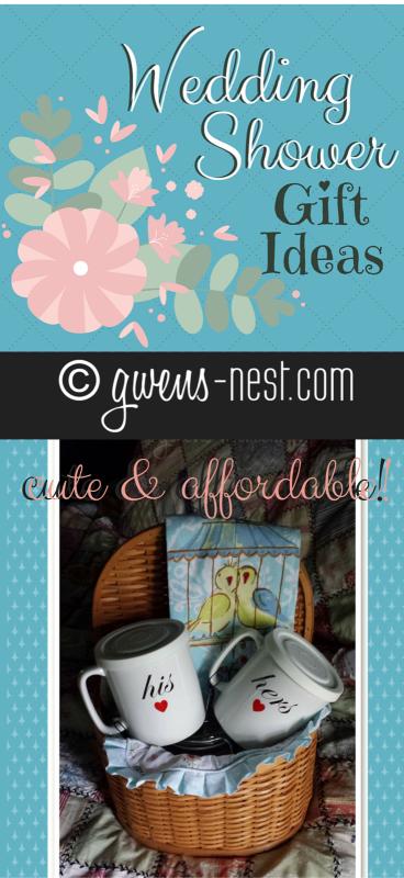 Wedding Shower Gift Ideas Gwens Nest