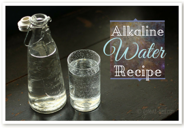 Alkaline water is a health trend right now, but you don't need to spend thousands on a fancy ionizer. Make your own ionized mineral water with this easy alkaline water recipe! The concentrate treats more than 36 gallons of water.
