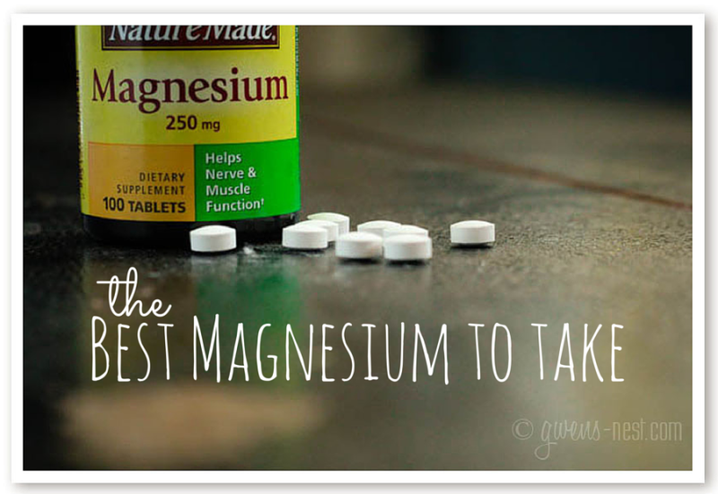 Whats the best magnesium to take? I'll give you the inside scoop on choosing magnesium supplements