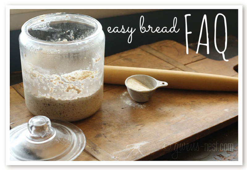 Easy Bread FAQ
