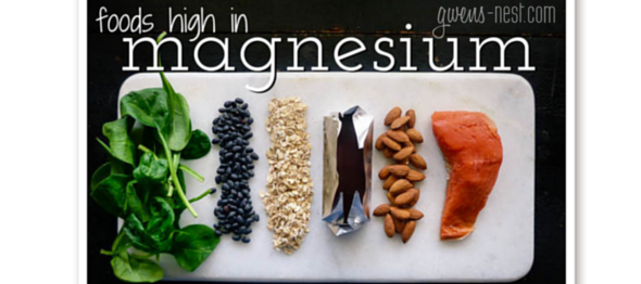 The foods high in magnesium help support healthy mineral levels