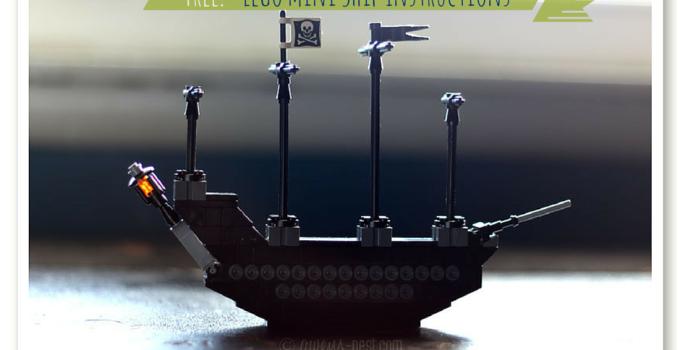 Lego Ship Instructions