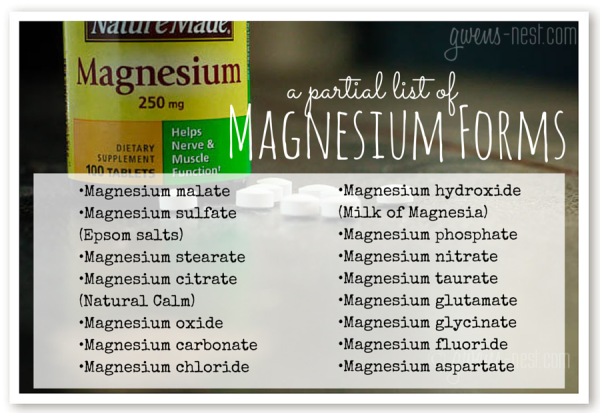 Best Magnesium to Take | Gwen's Nest