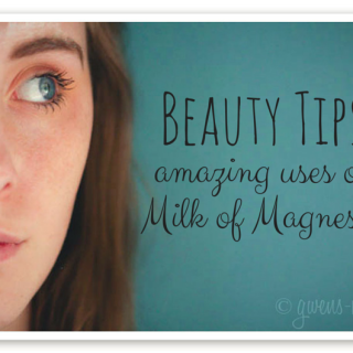 Beauty tips: amazing uses for Milk of Magnesia- it's an acne treatment and natural deodorant and more!