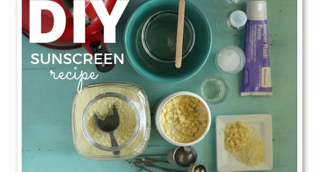 DIY Sunscreen Recipe