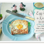 My favorite egg recipe is egg in a nest: I've given it a healthy lower carb makeover with sprouted bread. This is a THM S Helper recipe! But mostly it's easy and it ROCKS!