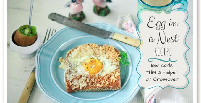 My Favorite Egg Recipe: Egg in a Nest
