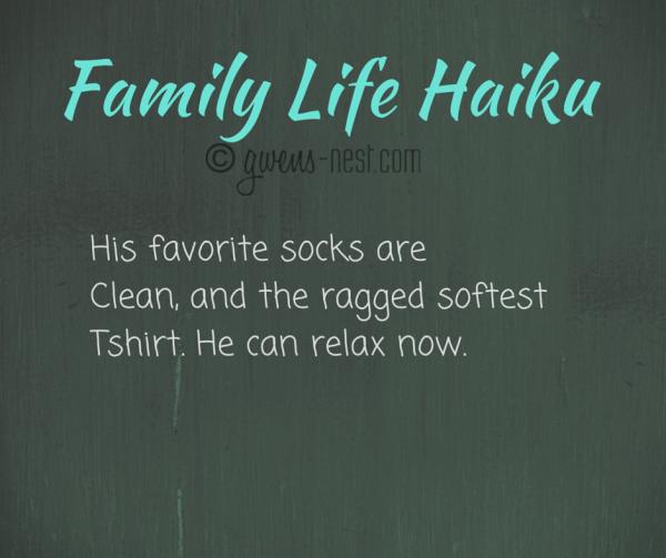 Family Life Haiku socks