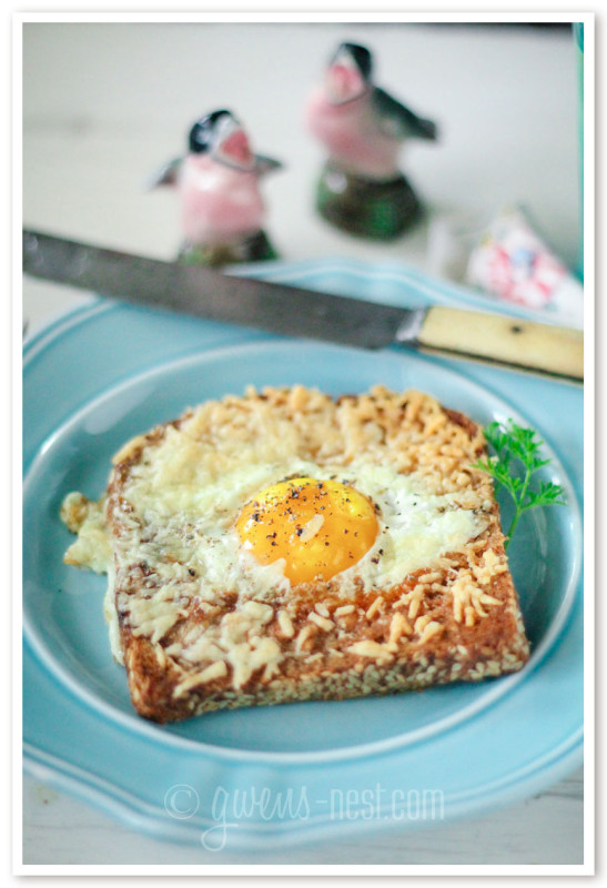 My favorite egg recipe is egg in a nest. I've given it a low carb makeover- you've gotta try this recipe!