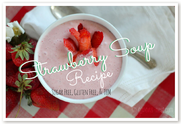 Strawberry soup is a fresh, chilled appetizer that's perfect for luncheons or tea parties. Get the recipe here!